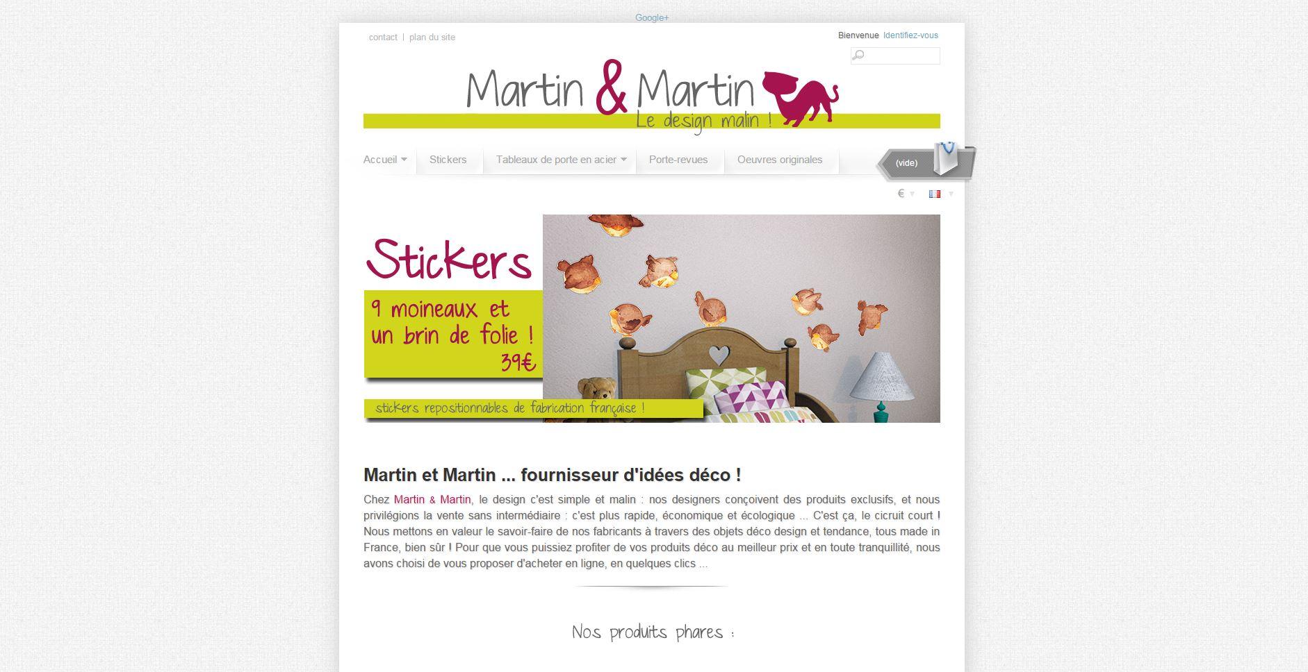 Agence de Com - site e-commerce, vente en ligne