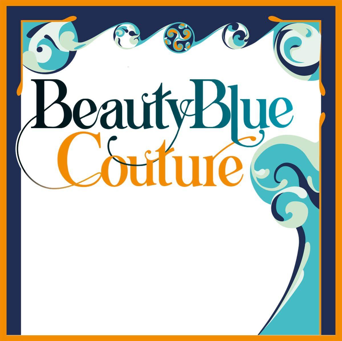 Beauty Blue Couture - logo par L'Agence de Com'