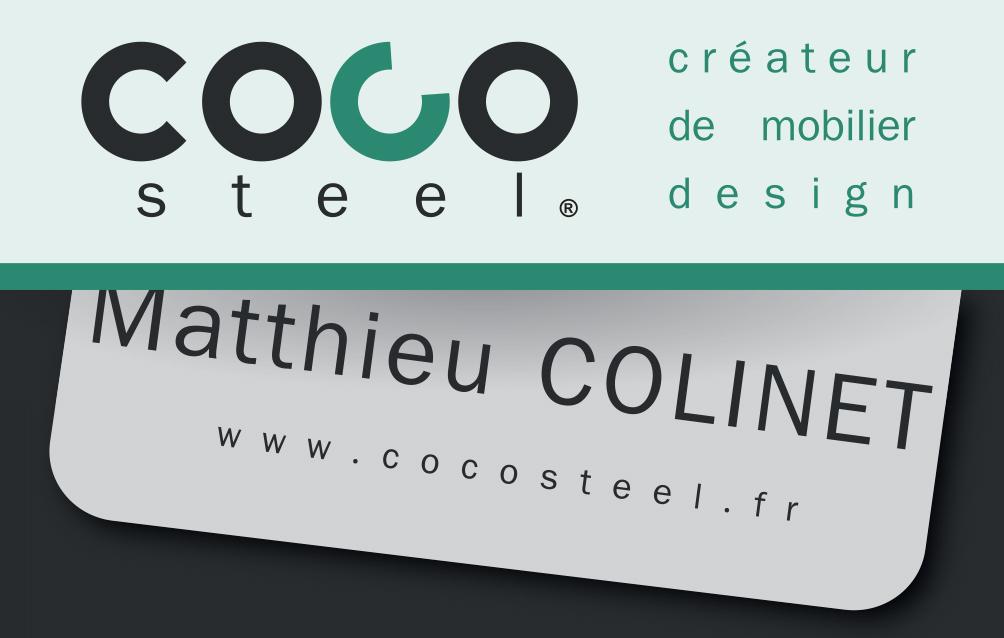 Carte Visite COCO Steel