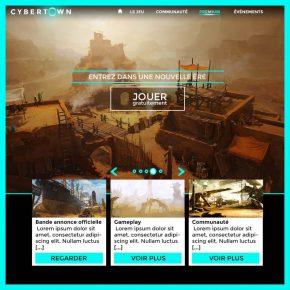 Cybertown - illustrations - L'Agence de com'
