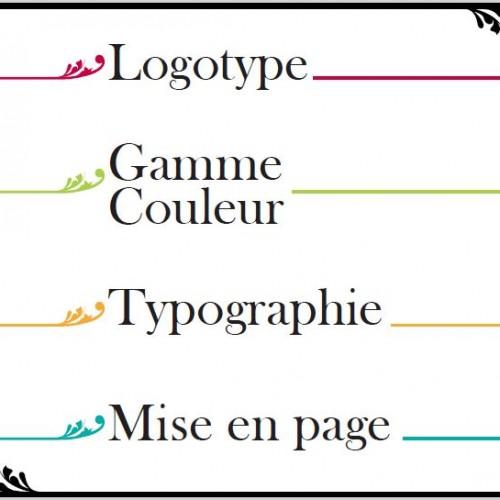 A la carte - logo et charte graphique par L'Agence de Com'