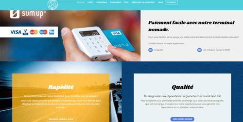 atelier gesret - documents commerciaux et site internet par l'Agence de Com'