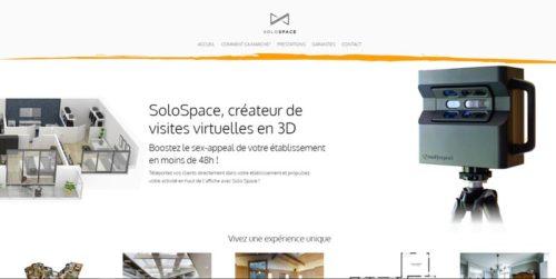 solo space site internet par l'Agence de Com'
