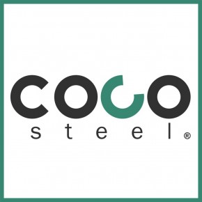 COCOSteel, logo et documents commerciaux par l'Agence de Com'