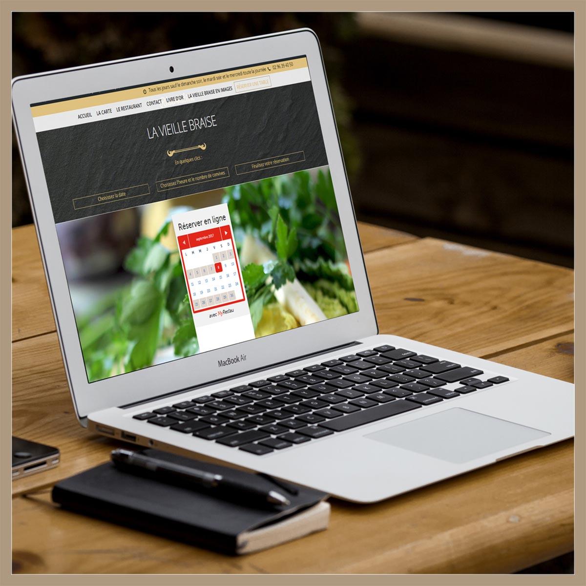 site web et documents commerciaux par l'Agence de Com'